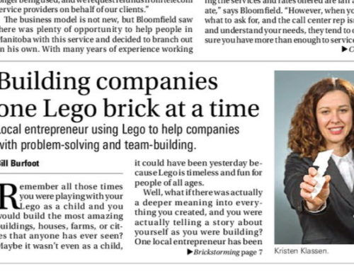 Building companies one LEGO brick at a time