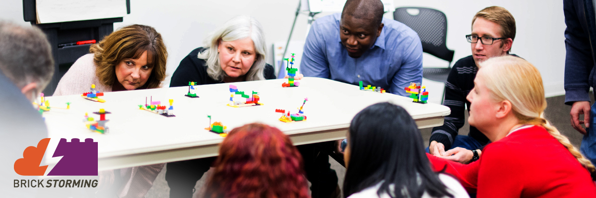 Participants Captivated by LEGO